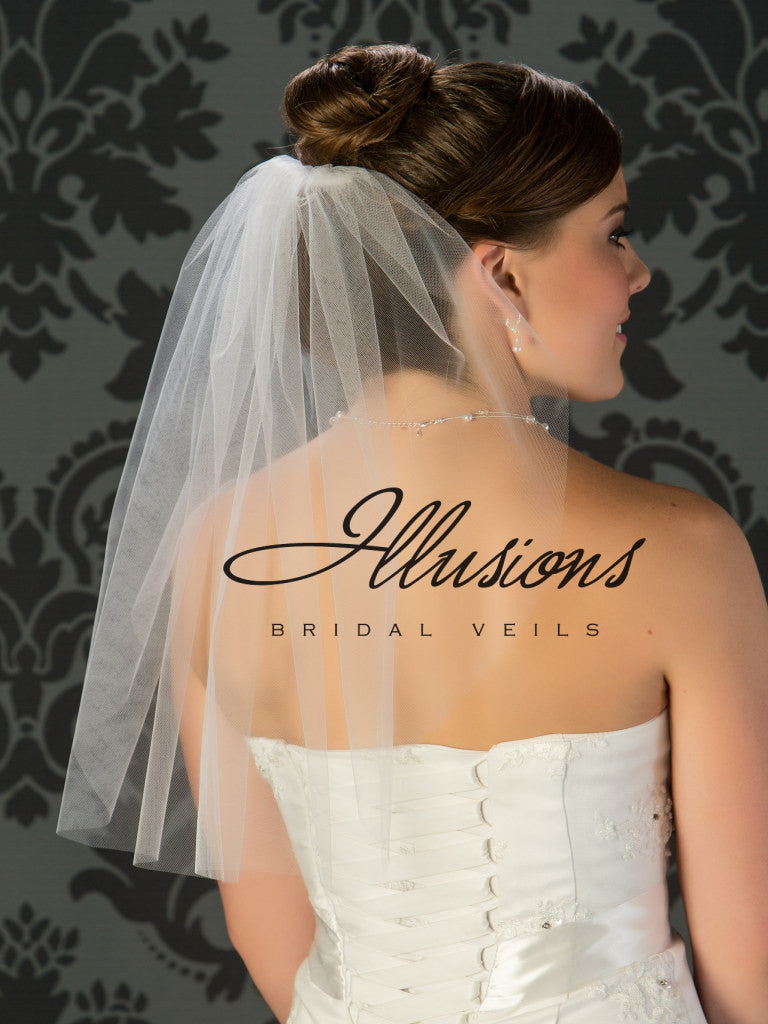Illusion Bridal Shoulder Length 5-201-ST