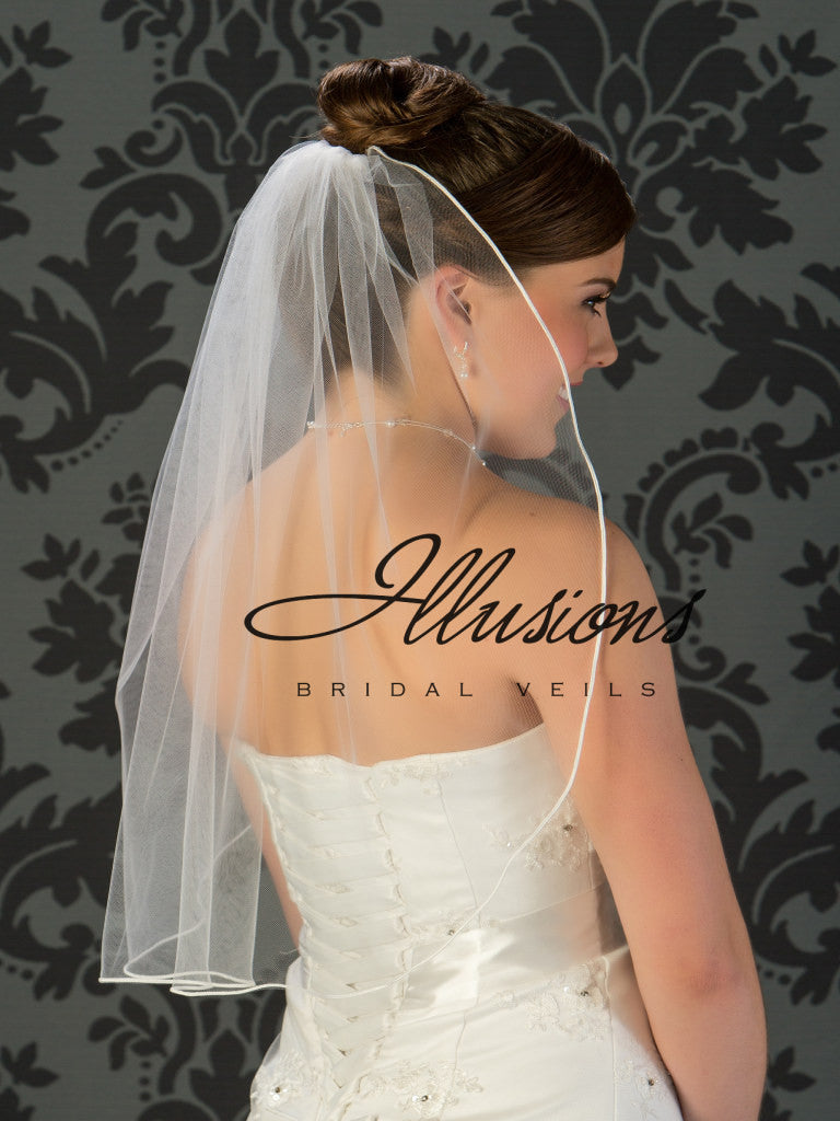 Illusion Bridal Elbow Length 5-251-ST