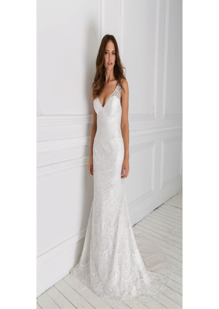 In Stock Off Rack 55001 size 12 ivory
