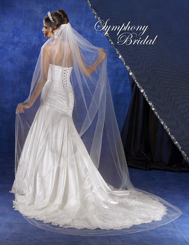 Symphony Cathedral Length Veil 5734VL