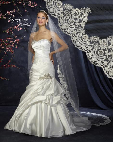 Symphony Cathedral Length Veil 6343VL