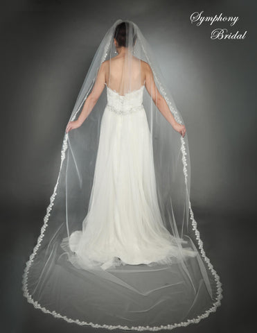 Symphony Cathedral Length Veil 6434VL