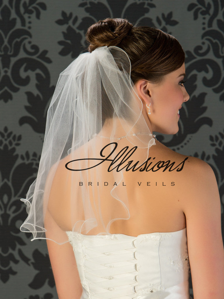 Illusion Bridal Shoulder Length 7-201-F