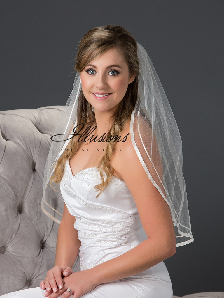 Illusion Bridal Elbow Length 7-251-D13R