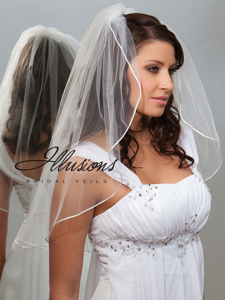 Illusion Bridal Elbow Length 7-251-RT