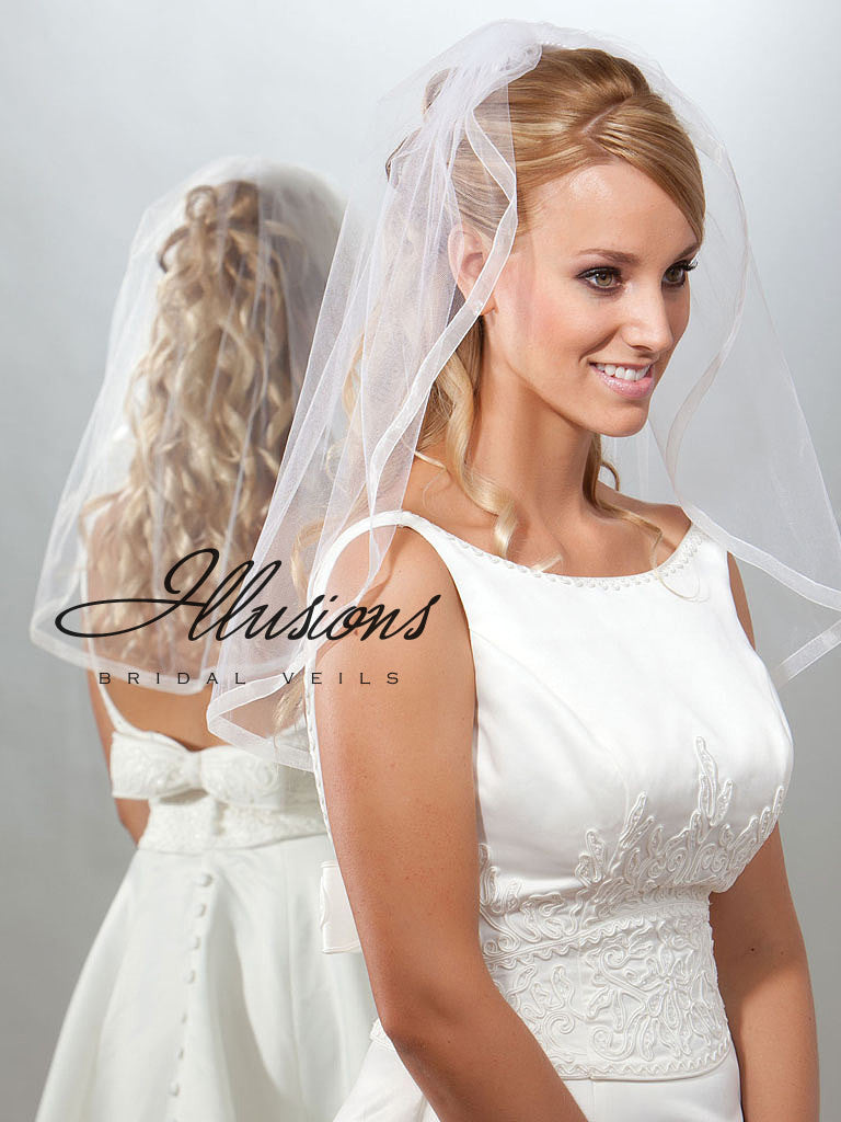 Illusion Bridal Elbow Length 7-251-SR