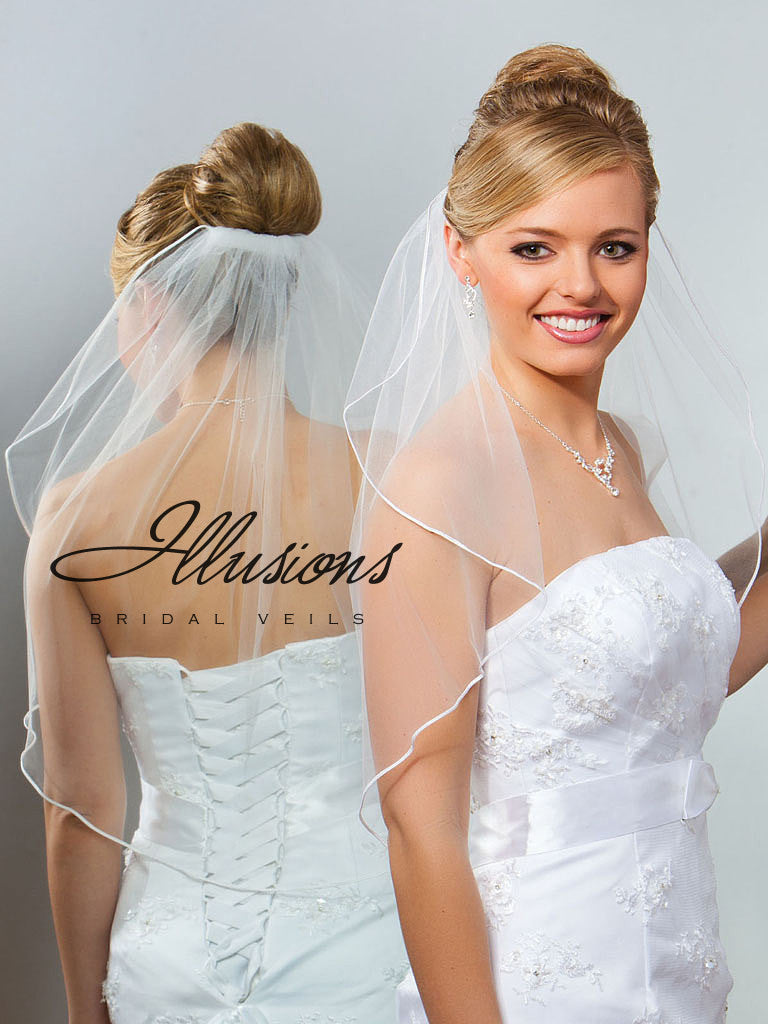 Illusion Bridal Elbow Length 7-251-ST