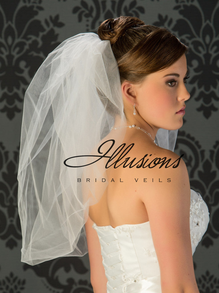 Illusion Bridal Elbow Length B7-25