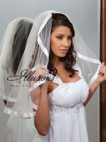 Illusion Bridal Elbow Length  C1-251-7R