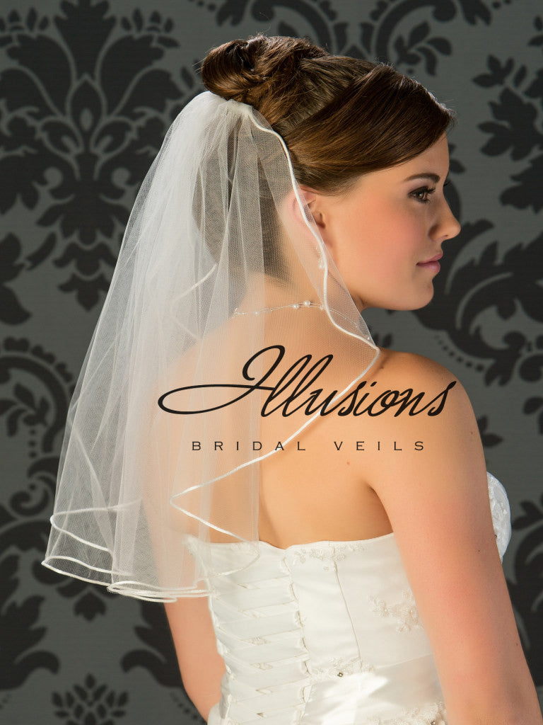 Illusion Bridal Shoulder Length C7-201-RT
