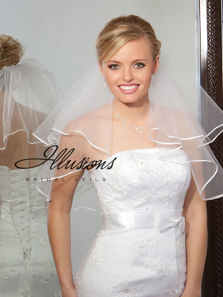 Illusion Bridal Shoulder Length C7-202-1R