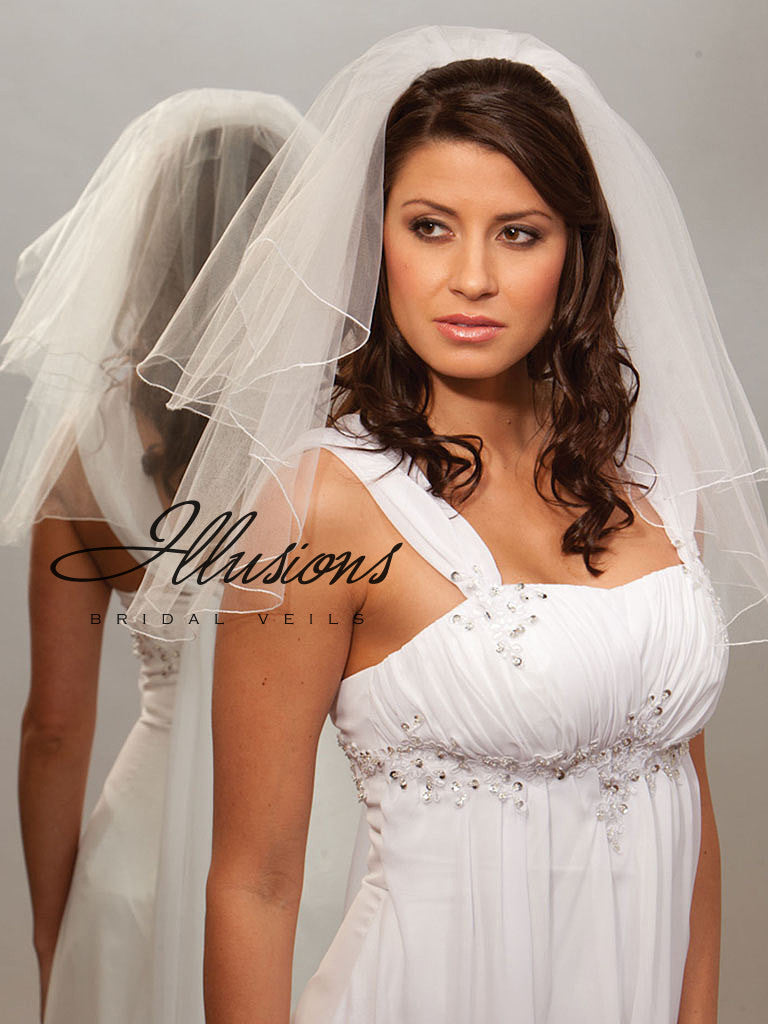 Illusion Bridal Shoulder Length C7-202-C
