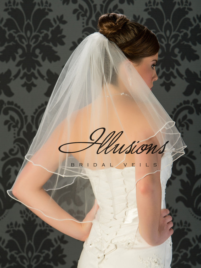 Illusion Bridal Elbow Length C7-252-P