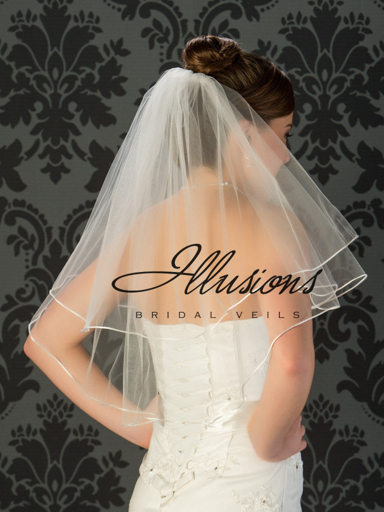 Illusion Bridal Elbow Length C7-252-RT