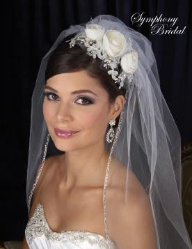 Symphony Bridal Headpiece Clip CL2026