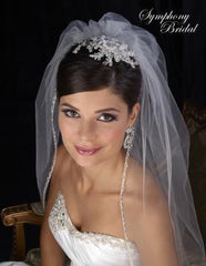 Symphony Bridal Headpiece Clip CL2029