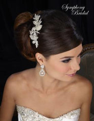 Symphony Bridal Headpiece Clip CL2032