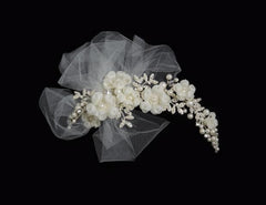 Symphony Bridal Headpiece Clip CL2033