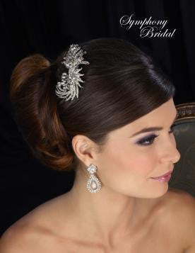 Symphony Bridal Headpiece Clip CL2034