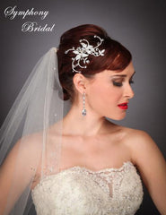 Symphony Bridal Headpiece Clip CL2101