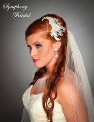 Symphony Bridal Headpiece Clip CL2103