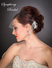 Symphony Bridal Headpiece Clip CL2106