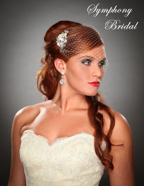 Symphony Bridal Headpiece Clip CL2110