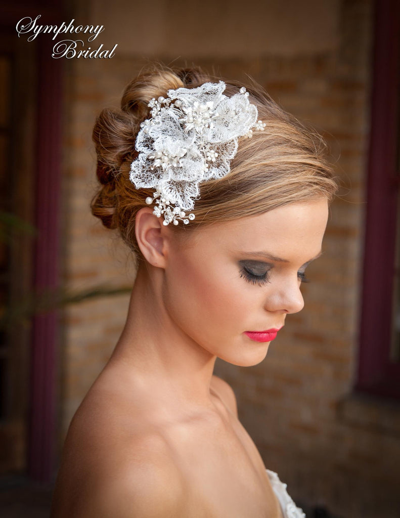Symphony Bridal Headpiece Clip CL3001