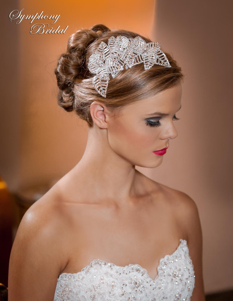 Symphony Bridal Headpiece Clip CL3002