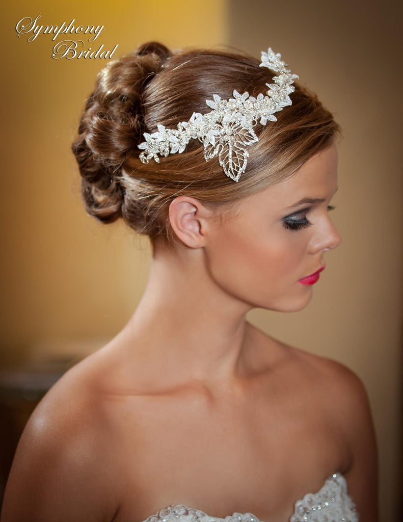 Symphony Bridal Headpiece Clip CL3003