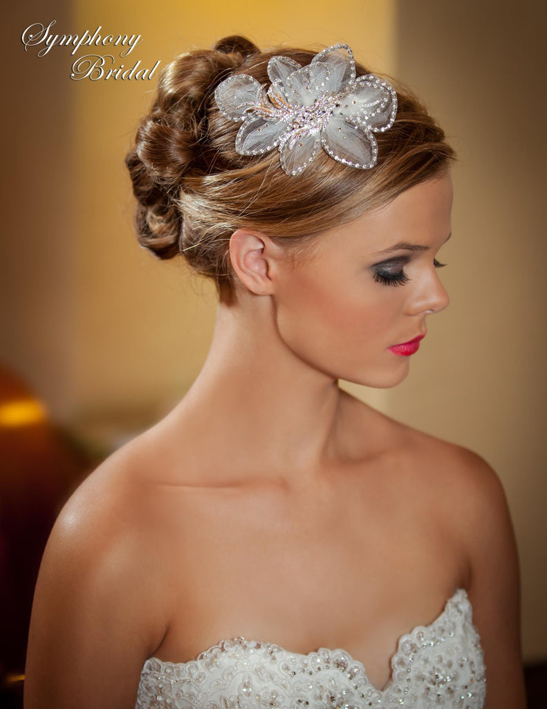 Symphony Bridal Headpiece Clip CL3004