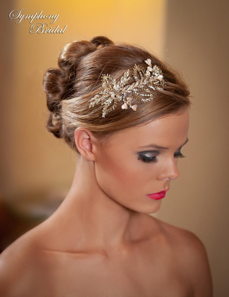 Symphony Bridal Headpiece Clip CL3005
