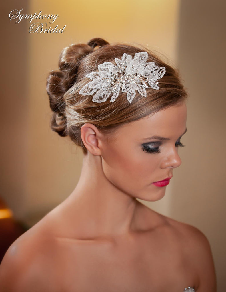 Symphony Bridal Headpiece Clip CL3007