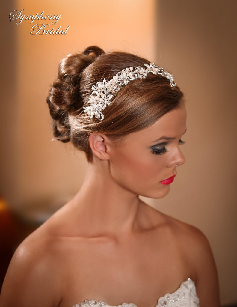 Symphony Bridal Headpiece Clip CL3014