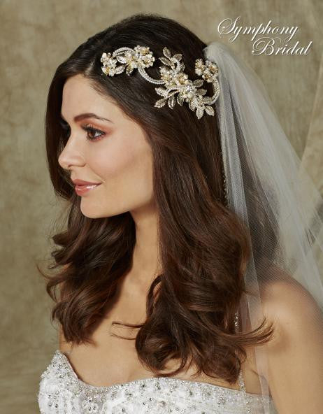 Symphony Bridal Headpiece Clip CL4001