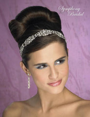 Symphony Bridal Headpiece Hair Wrap HW105