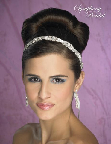 Symphony Bridal Headpiece Hair Wrap HW106