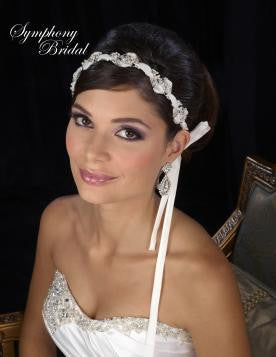 Symphony Bridal Headpiece Hair Wrap HW231