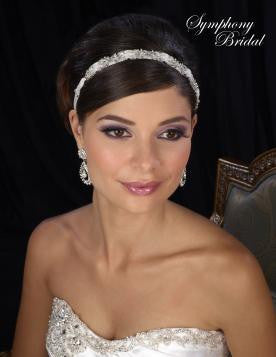 Symphony Bridal Headpiece Hair Wrap HW233