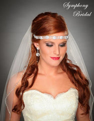 Symphony Bridal Headpiece Hair Wrap HW302