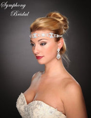 Symphony Bridal Headpiece Hair Wrap HW304