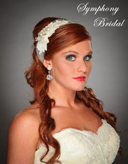 Symphony Bridal Headpiece Hair Wrap HW307
