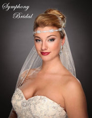 Symphony Bridal Headpiece Hair Wrap HW311
