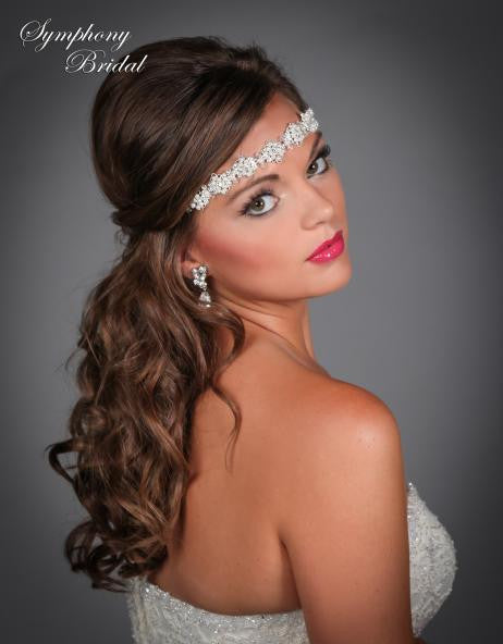 Symphony Bridal Headpiece Hair Wrap HW404