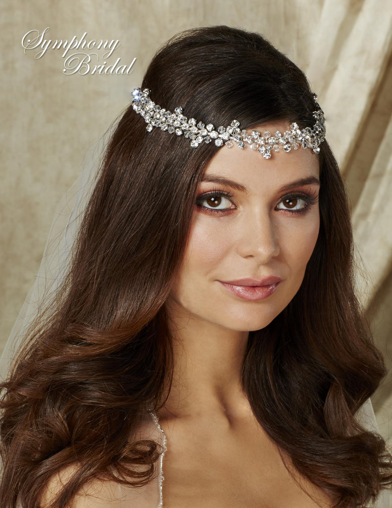 Symphony Bridal Headpiece Hair Wrap HW501