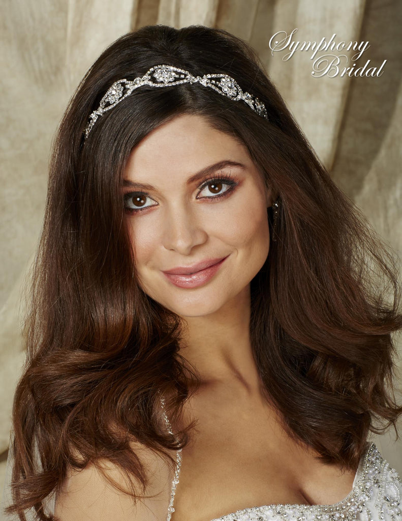 Symphony Bridal Headpiece Hair Wrap HW504