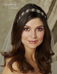 Symphony Bridal Headpiece Hair Wrap HW505