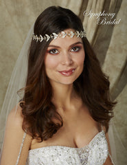 Symphony Bridal Headpiece Hair Wrap HW509