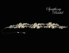 Symphony Bridal Headpiece Hair Wrap HW510