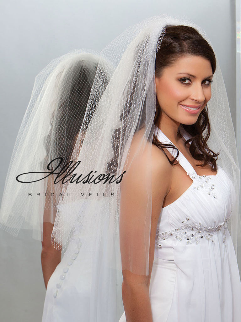 Illusion Bridal Elbow Length QR7-252-CT